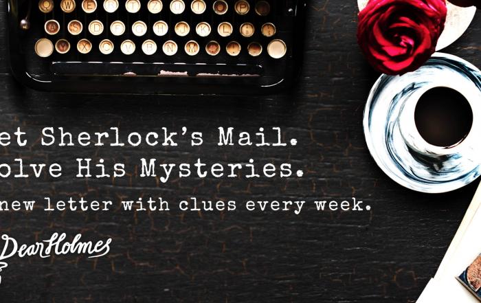 Dear Holmes: ¿Te atreves a resolver un misterio transmedia?