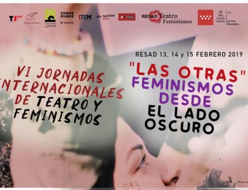 Participamos en las VI Jornadas de Teatro y Feminismo